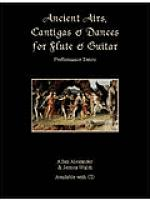 Ancient Airs, Cantigas, & Dances for Flute & Guitar Sheet Music