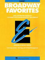Essential Elements: Broadway Favorites (B Flat Clarinet) Sheet Music