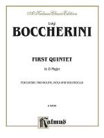1st String Quintet In D Maj Sheet Music