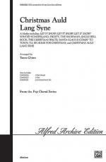 Christmas Auld Lang Syne - SATB Sheet Music