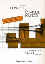 The Complete Solfeggi for Trumpet Sheet Music