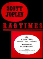 Ragtimes for String Quartet (4) Sheet Music