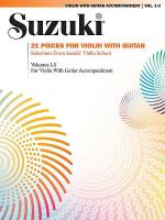 21 Pieces for Violin with Guitar Sheet Music