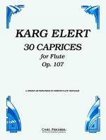 30 Caprices for Flute, Op. 107 Sheet Music