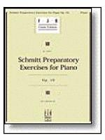 Schmitt Preparatory Exercises for Piano, Op. 16 Sheet Music