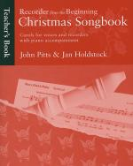 Recorder From The Beginning: Christmas Songbook Teacher's Book Sheet Music