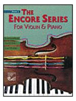 The Encore Series for Violin & Piano: Book 2 Sheet Music