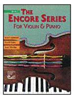 The Encore Series for Violin & Piano: Book 3 Sheet Music