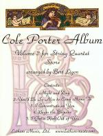 Cole Porter Album: Volume 2 for String Quartet Sheet Music