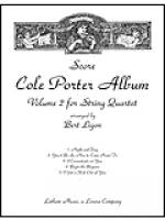 Cole Porter Album: Volume 2 for String Quartet - Score Sheet Music