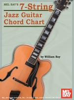 7-String Jazz Guitar Chord Chart Sheet Music
