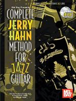 Complete Jerry Hahn Method for Jazz Guitar Book/CD Set Sheet Music