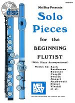 Solo Pieces for the Beginning Flutist Book/CD Set Sheet Music