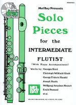 Solo Pieces for the Intermediate Flutist Book/CD Set Sheet Music