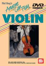 Anyone Can Play Violin DVD Sheet Music