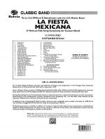 La Fiesta Mexicana (A Mexican Folk Song Symphony for Concert Band) Sheet Music