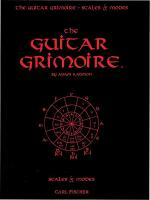 Guitar Grimoire - Scales & Modes Sheet Music