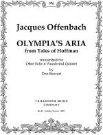Olympia's Aria Sheet Music