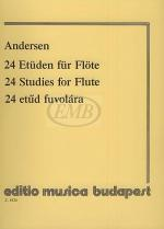 24 Studies for Flute, Op. 15 Sheet Music