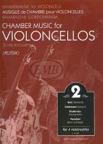 Chamber Music for Four Violoncellos - Volume 2 Sheet Music