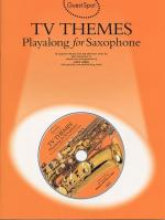 Guest Spot: TV Themes Playalong For Saxophone Sheet Music