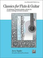 Classics for Flute & Guitar Sheet Music