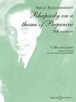 Rhapsody on a Theme of Paganini, Op. 43 Sheet Music