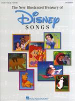 The Illustrated Treasury Of Disney Songs Sheet Music