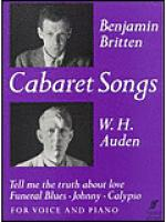 Cabaret Songs Sheet Music