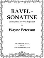 Ravel Sonatine Sheet Music