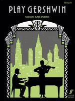 Play Gershwin for Violin Sheet Music