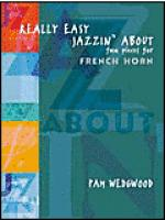Really Easy Jazzin' About -- Fun Pieces for French Horn Sheet Music