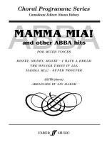 Mamma Mia! and other ABBA hits Sheet Music