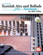 Scottish Airs and Ballads for Autoharp Book/CD Set Sheet Music