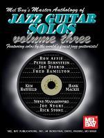 Master Anthology of Jazz Guitar Solos, Volume 3 Book/CD Set Sheet Music