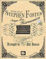Stephen Foster Songs for Harmonica Book/CD Set Sheet Music