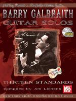 Barry Galbraith Guitar Solos Volume 2 Book/CD Set Sheet Music