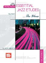 Essential Jazz Etudes...The Blues for Trumpet Book/CD Set Sheet Music