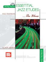 Essential Jazz Etudes...The Blues for Bass/Trombone Book/2-CD Set Sheet Music