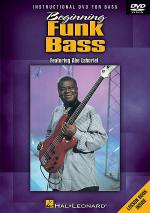 Beginning Funk Bass DVD Sheet Music