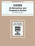 36 Elementary and Progressive Studies, Op. 20 Sheet Music