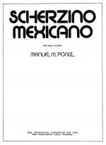 Scherzino Mexicano Sheet Music