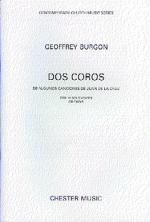 Dos Coros For 12 Solo Voices Or Choir Sheet Music