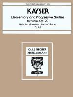 Elementary and Progressive Studies, Op.20, Bk.1 Sheet Music