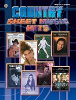 Country Sheet Music Hits Sheet Music