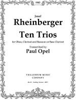 Ten Trios Sheet Music