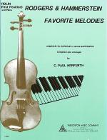 Rodgers & Hammerstein Favorite Melodies Sheet Music