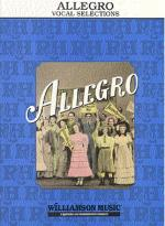 Rodgers and Hammerstein: Allegro Vocal Selections Sheet Music