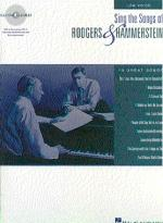 Sing The Songs Of Rodgers And Hammerstein: Low Voice Sheet Music