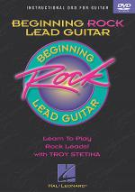Beginning Rock Lead Guitar (DVD) Sheet Music